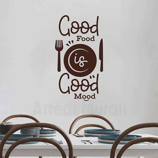 Adesivi murali buona cucina