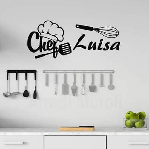 Adesivi murali personalizzati per la cucina