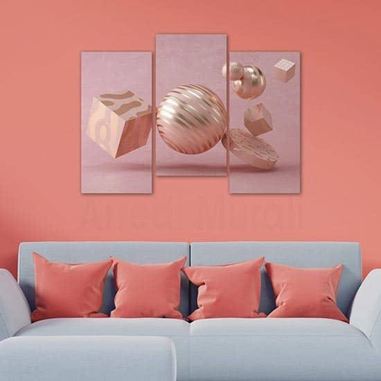 Quadri moderni 3d artistico, stampe su tela