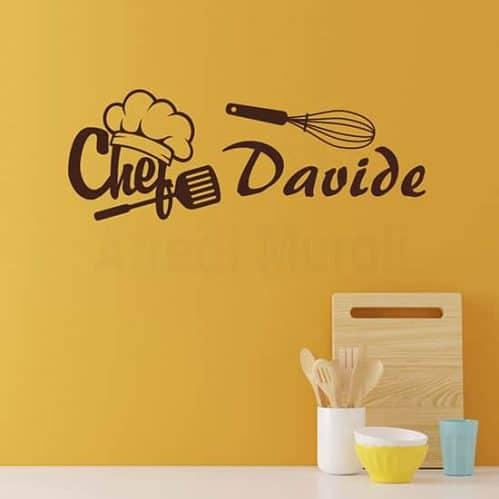 Adesivi da parete personalizzati per la cucina