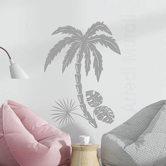 Adesivi murali piante esotiche