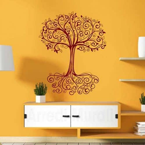 Adesivo murale albero della vita, decorazione da parete