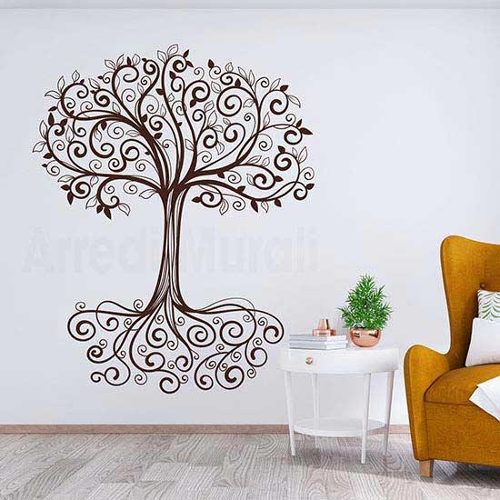 Adesivo murale albero della vita