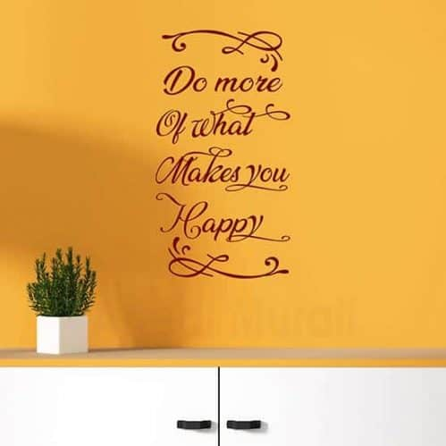 Frase adesiva da muro in inglese