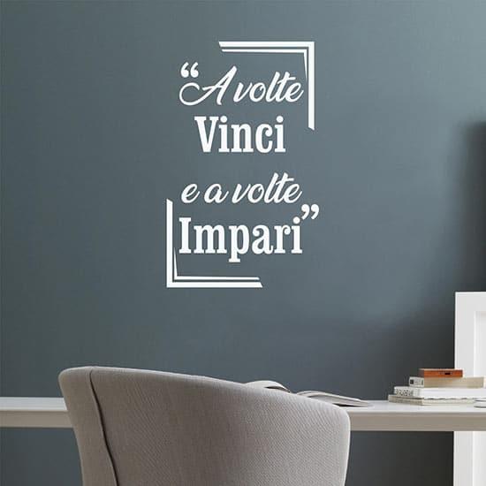 Frase adesiva motivazionale da parete, decorazioni murali