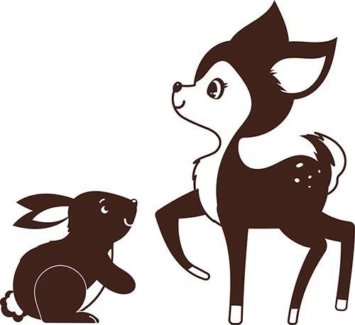 bamby e coniglietto
