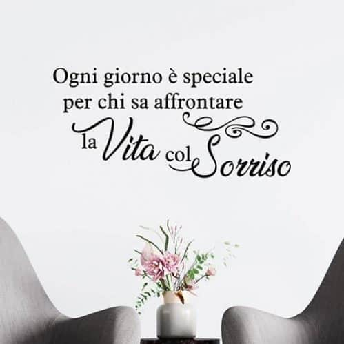 Wall stickers frase decorativa