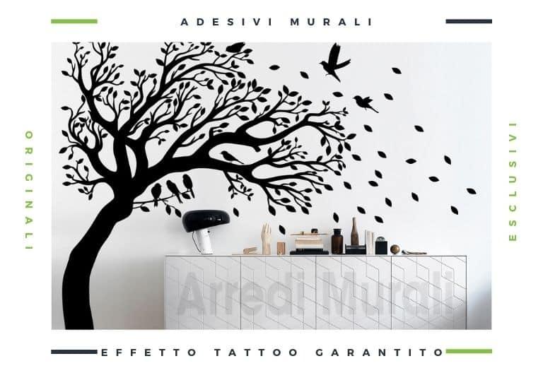 decorazioni pareti con adesivi murali