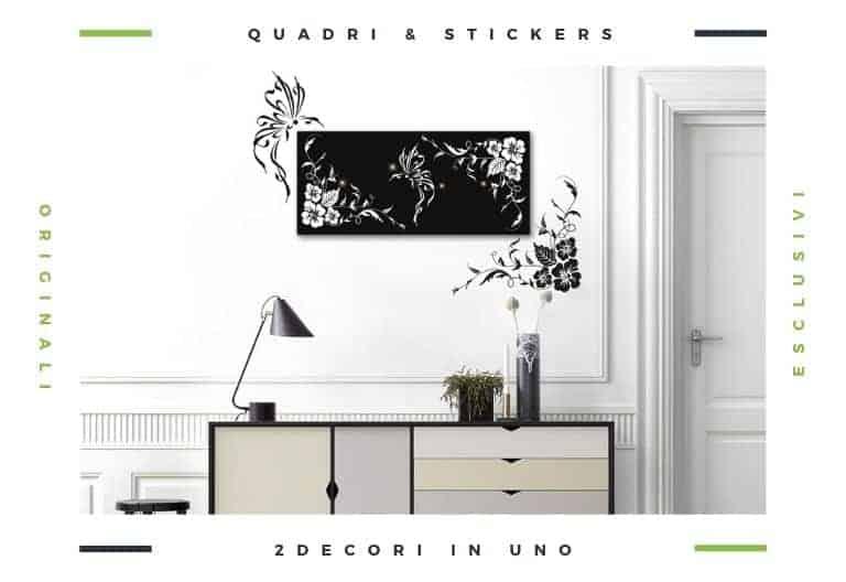 decorazioni pareti con quadri & stickers