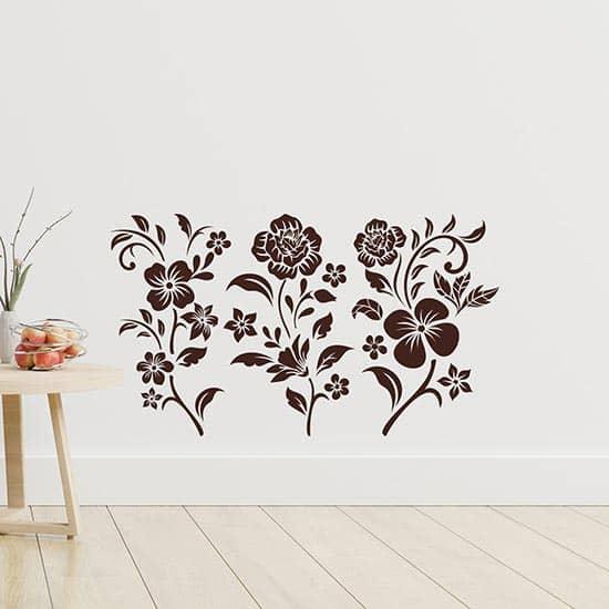 Fiori adesivi decorazioni da parete, stickers murali