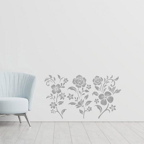 Fiori adesivi decorazioni da parete