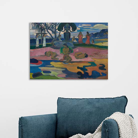 Quadro famoso di Paul Gauguin riproduzione
