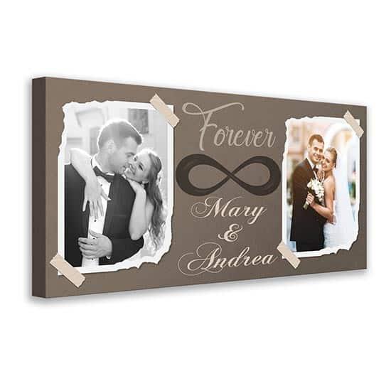 Quadro personalizzato con le vostre foto su tela