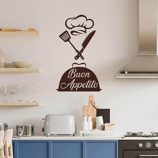 Adesivi da parete per cucina o ristorante
