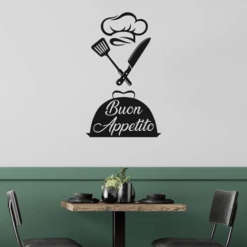 Adesivi murali per cucina o ristorante