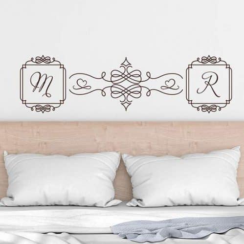 Adesivi personalizzati per camera da letto