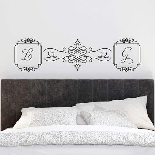 Adesivi personalizzati per la camera da letto