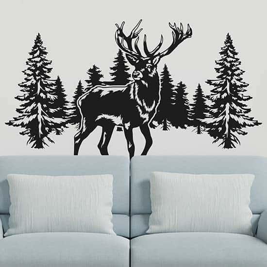 Adesivi murali paesaggio naturale