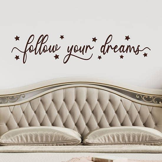 adesivi murali per camera da letto