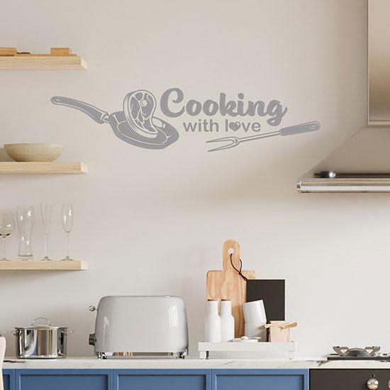 Adesivi da parete per cucina o ristorante decorazioni