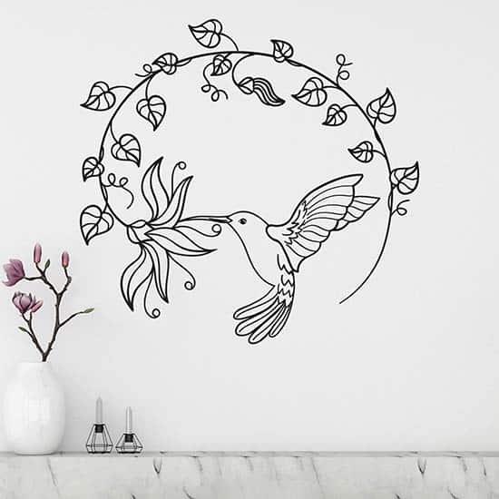 Adesivi murali stilizzati