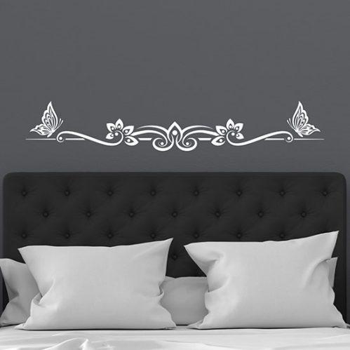 Decorazioni adesive per camera da letto, adesivi murali