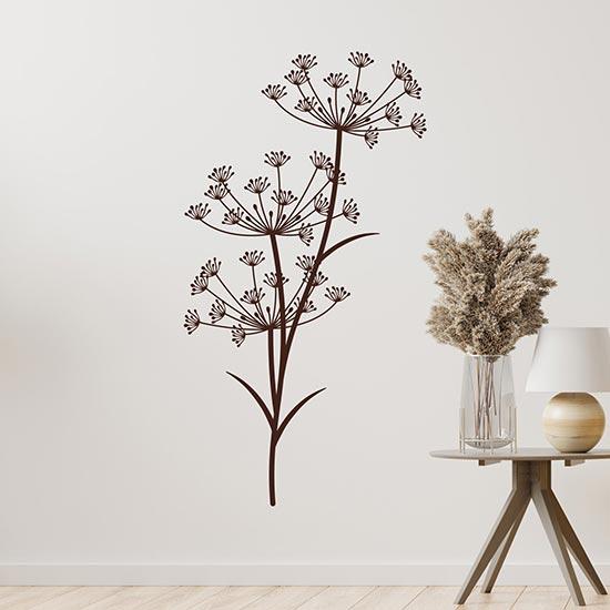 Decorazioni adesive soffioni da parete