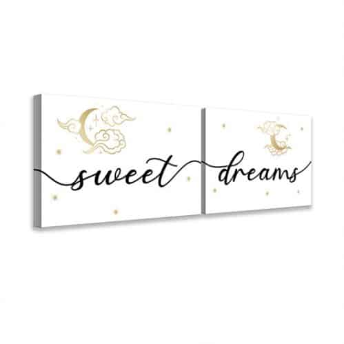 Quadri su tela sweet dreams