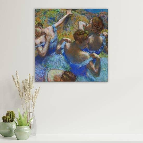 Quadro famoso di Edgar Degas le Ballerine