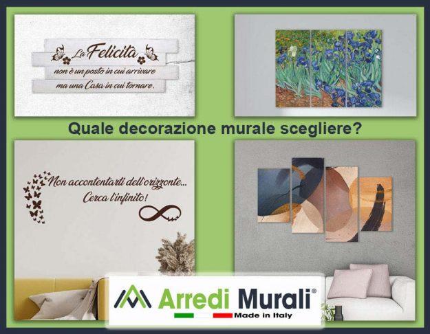 Quale decorazione murale scegliere