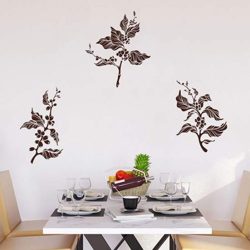 Adesivi murali albero del caffè