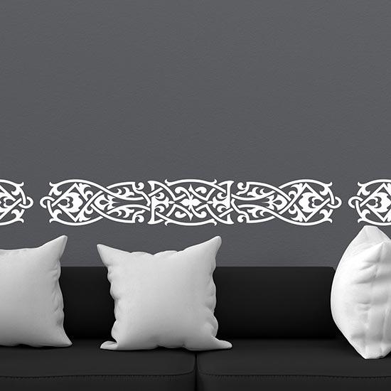 Greca adesiva in stile celtico decorazioni adesive