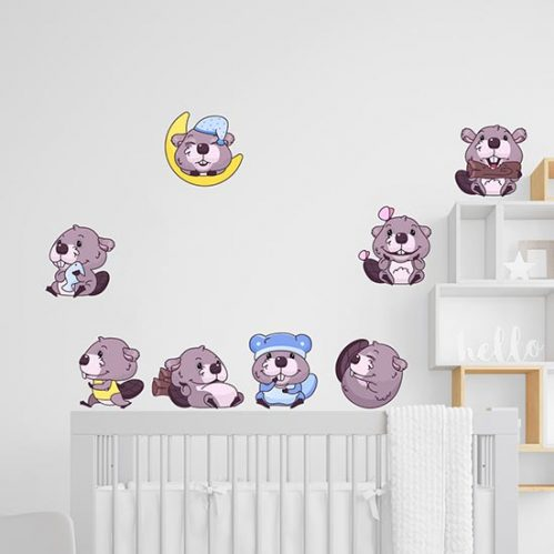 Stickers murali per bambini