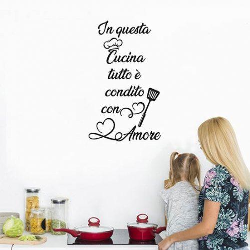 Stickers murali cucina