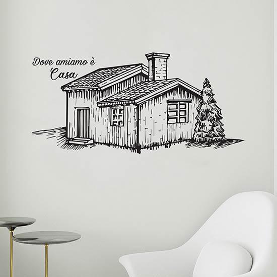 Disegno adesivo da muro