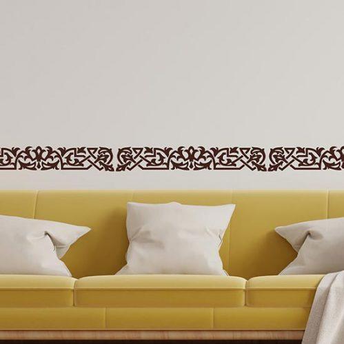 Greca adesiva da parete