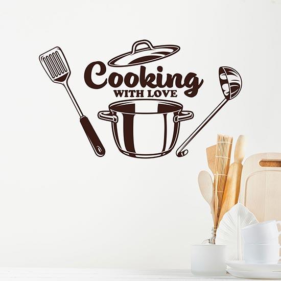 Wall stickers per cucina o ristorante