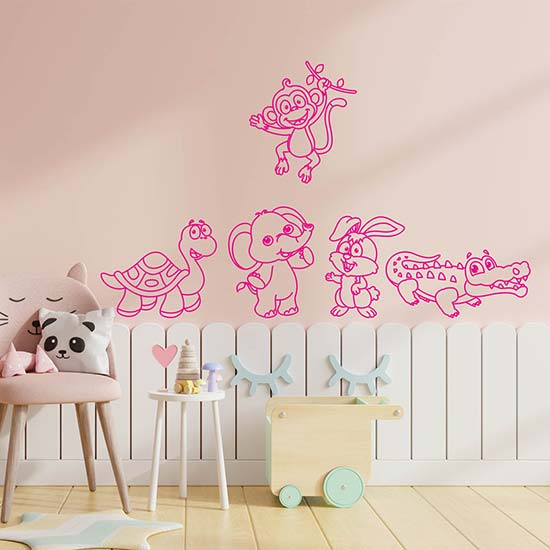 Disegni adesivi per camerette stickers murali