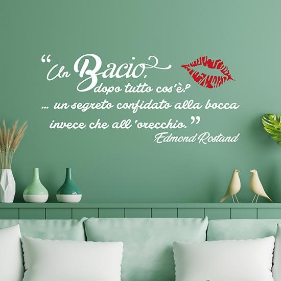Frase adesiva per muro di Rostand stickers murali
