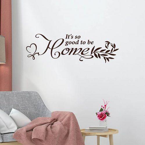 Scritta adesiva per muro
