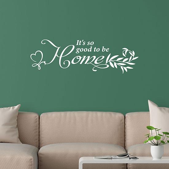 Scritta adesiva per muro decorazione da parete