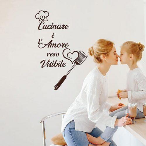 frasi adesive per cucina