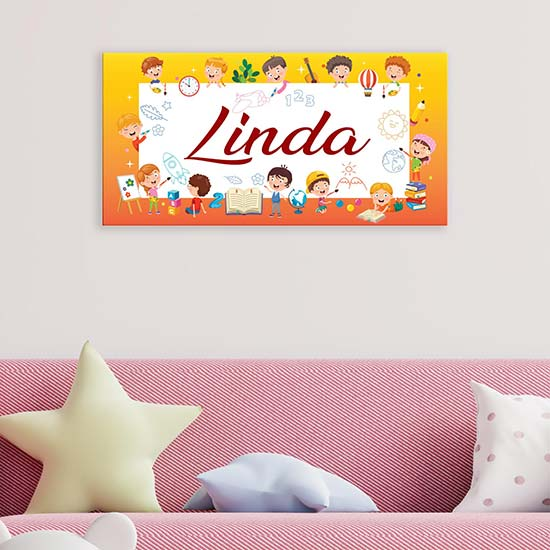 Quadro personalizzato per bambini