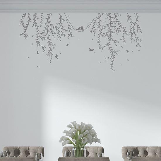 Decorazioni adesive floreali per muri adesivi murali