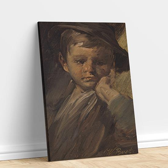 quadro famoso di Wilhelm Busch su tela