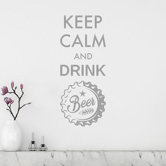 Adesivi per muro drink bar