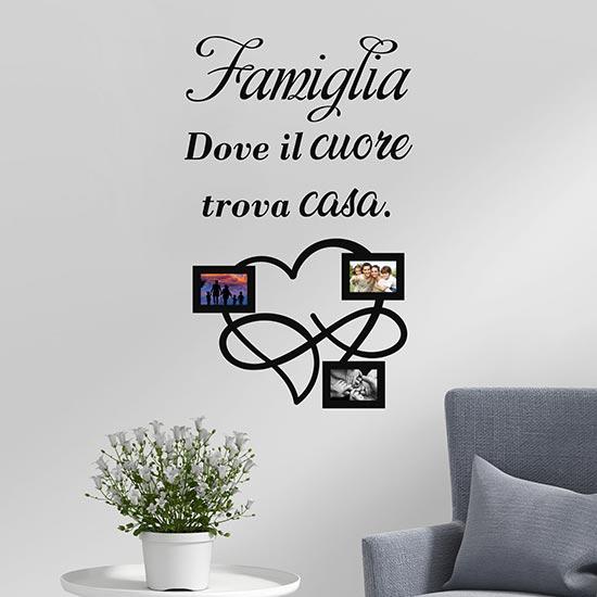 Frasi sulla famiglia adesivi murali