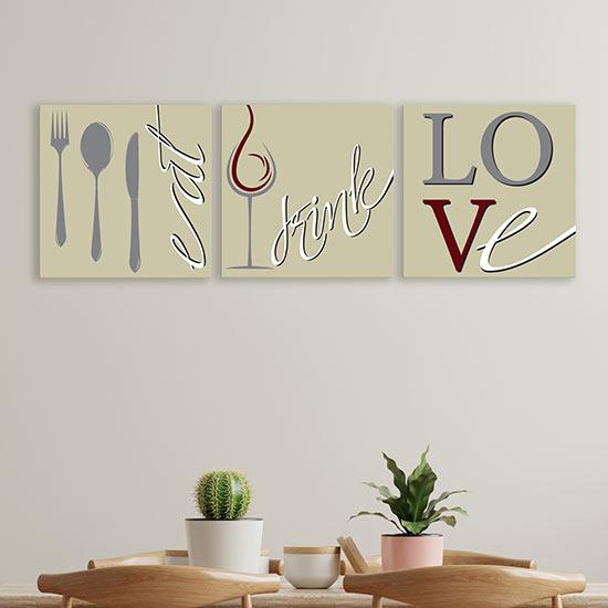 Quadri per cucina stampe su tela decorazioni murali