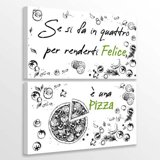Quadri per pizzeria stampe su tela