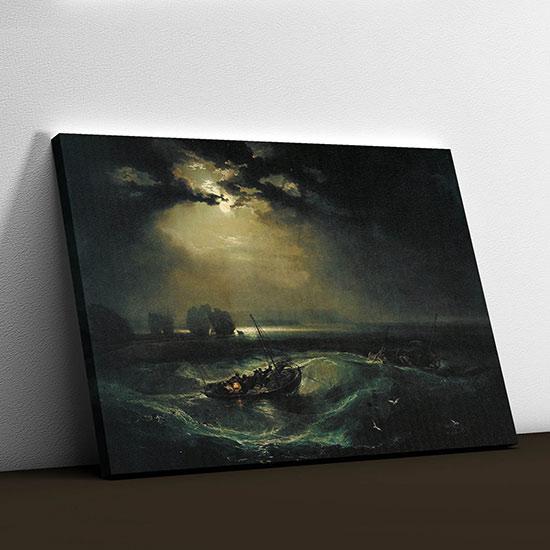Quadro di William Turner pescatori
